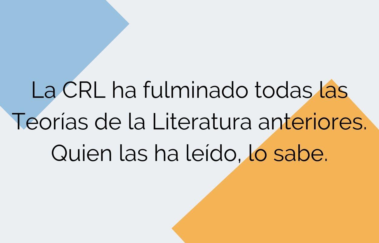 El poder de la CRL
