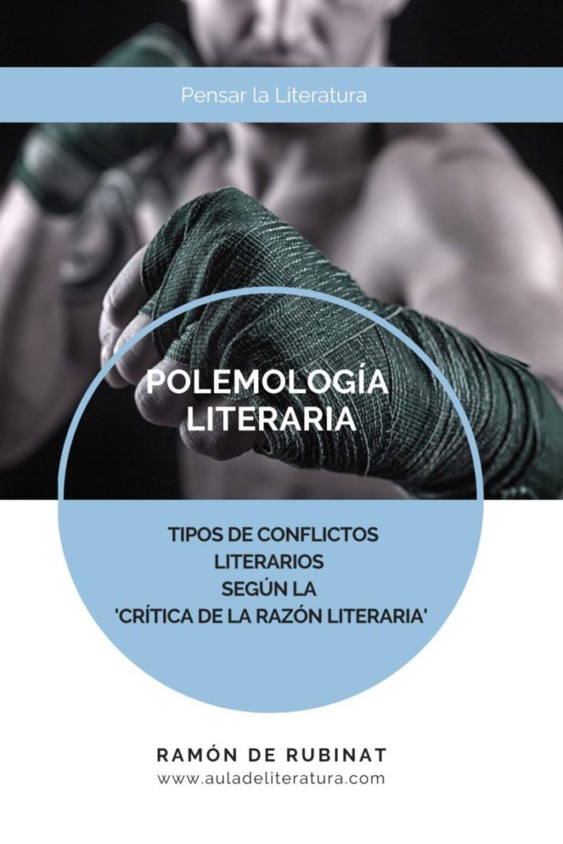 Portada del libro 'Polemología Literaria'
